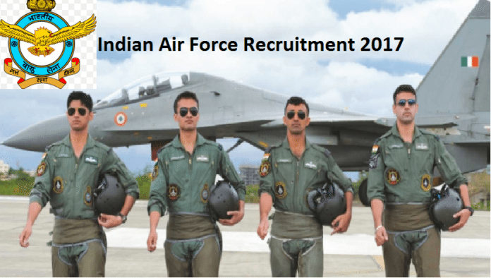IAF Recruitment 2017