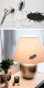 Lamp with Insects