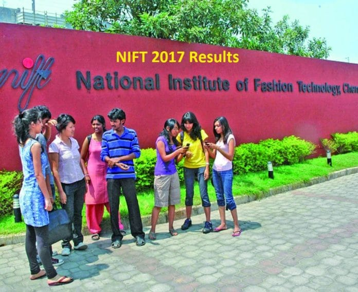 NIFT Entrance Exam Results
