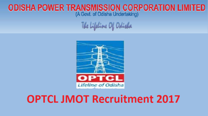 OPTCL jmot recruitment 2017