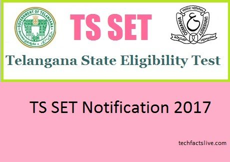 TS SET Notification 2017