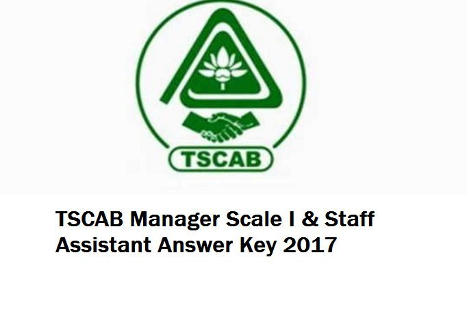 TSCAB Answer Key 2017