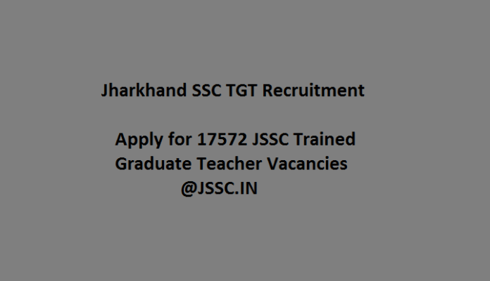Jharkhand SSC TGT Teacher Recruitment