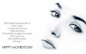 Women's Day 2017 Theme