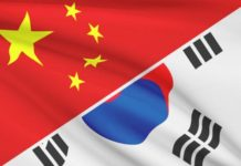 skorea task force in china