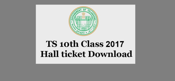 TS 10th Class Hall Ticket