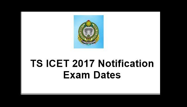 TSICET 2017 Notification
