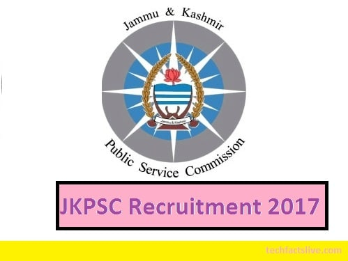 JKPSC MO Notification Recruitment 2017