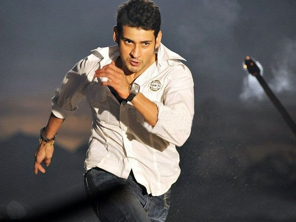 Mahesh Shooting For A Chase Sequence