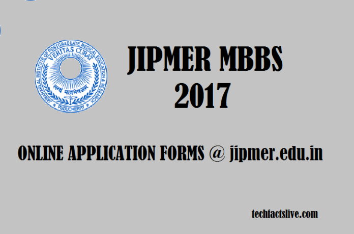 JIPMER MBBS 2017 Admission