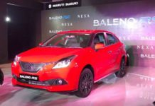 baleno rs launched