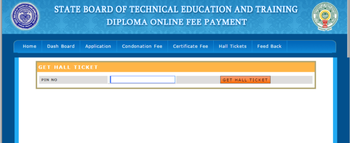 AP SBTET Diploma Hall Ticket 2017