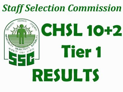 SSC CHSL Tier-I Result 2017