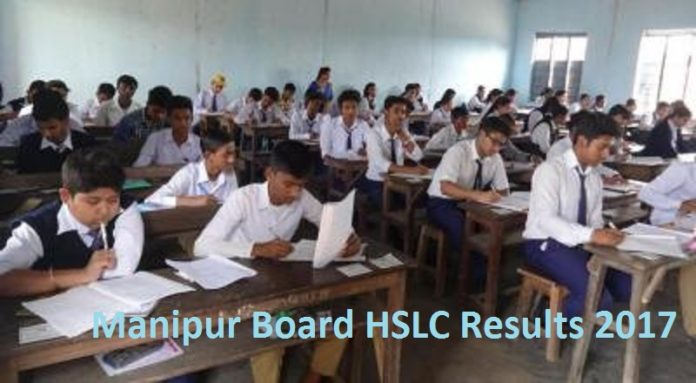 Manipur Board HSLC Results 2017