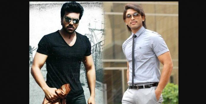 Ram Charan and Allu Arjun