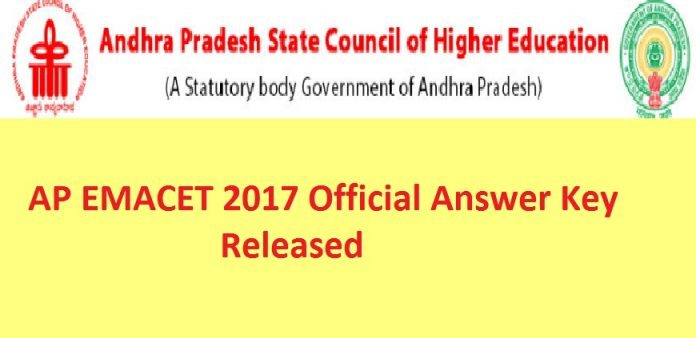 AP EAMCET Answer Key 2017