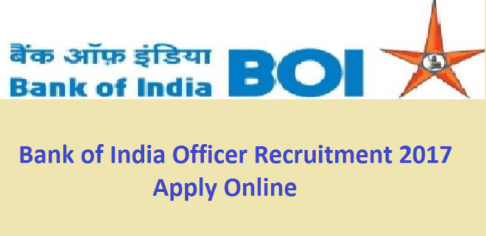BOI Recruitment 2017