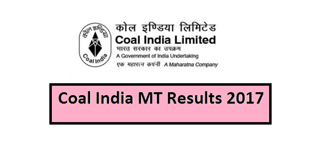 Coal India MT Results 2017