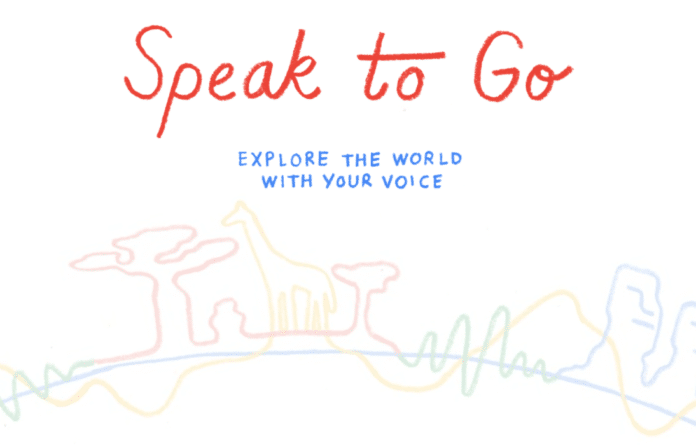 Google Speak to go
