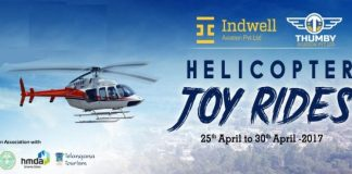Hyderabad joy ride helicopter ride