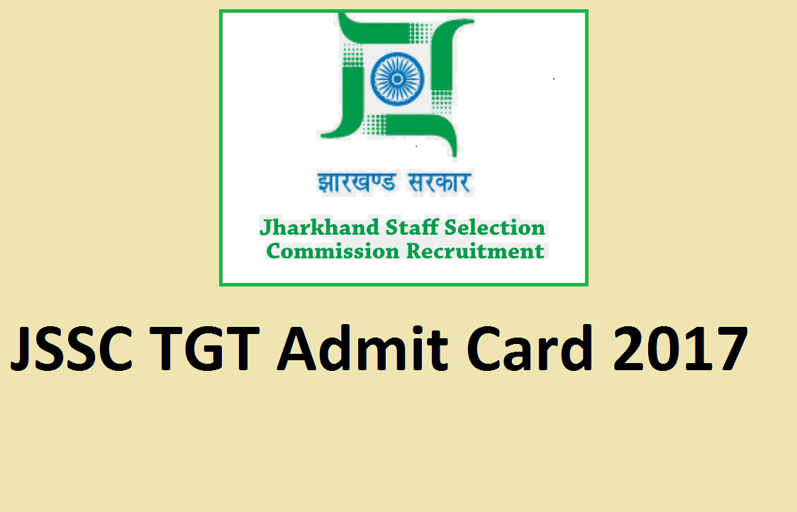 Jssc Tgt Admit Card 2017 Check Exam Date Graduate Teacher