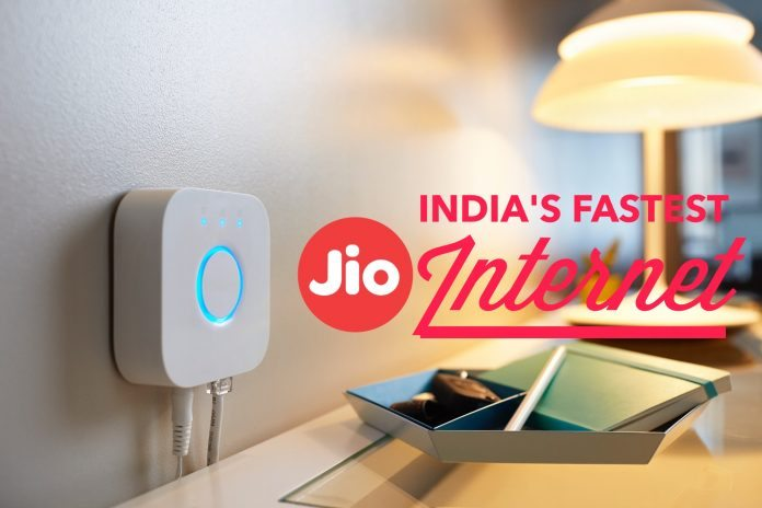 Jio FTTH services