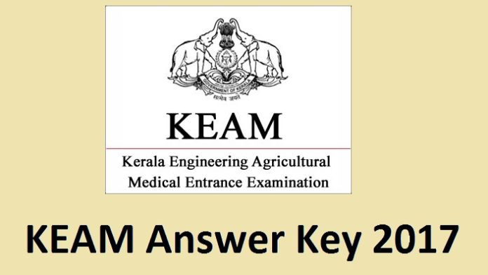 KEAM Answer Key 2017