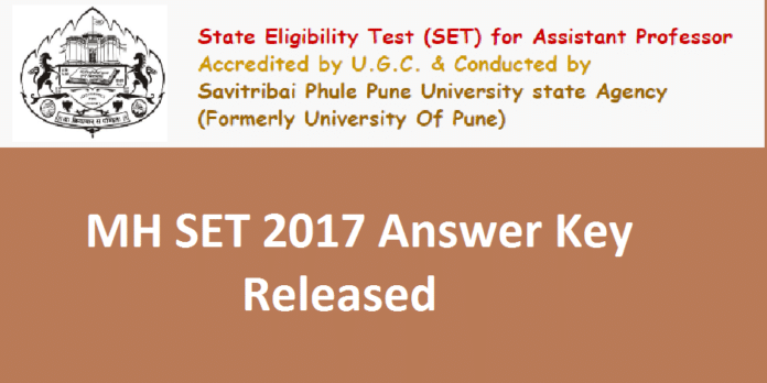 Maharashtra SET Answer Key 2017