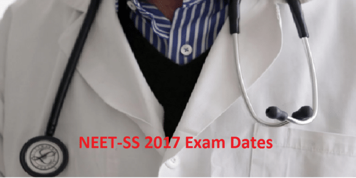 NEET Super Speciality 2017 Application Form
