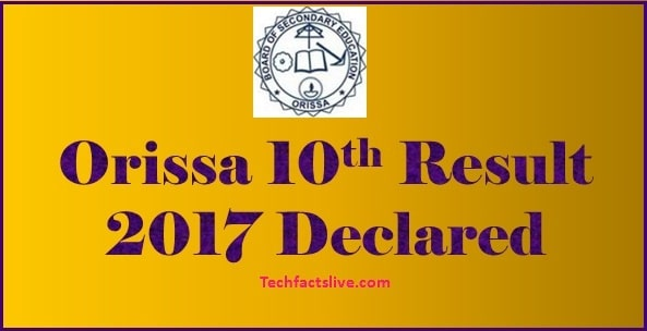 In 10th HSC result 2017 at orissaresults