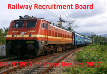 RRB NTPC 2nd Stage CBT Results 2017