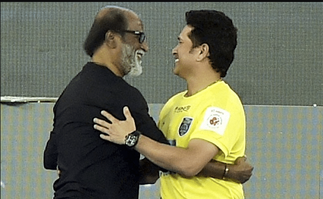 rajinikanth wishes Sachin