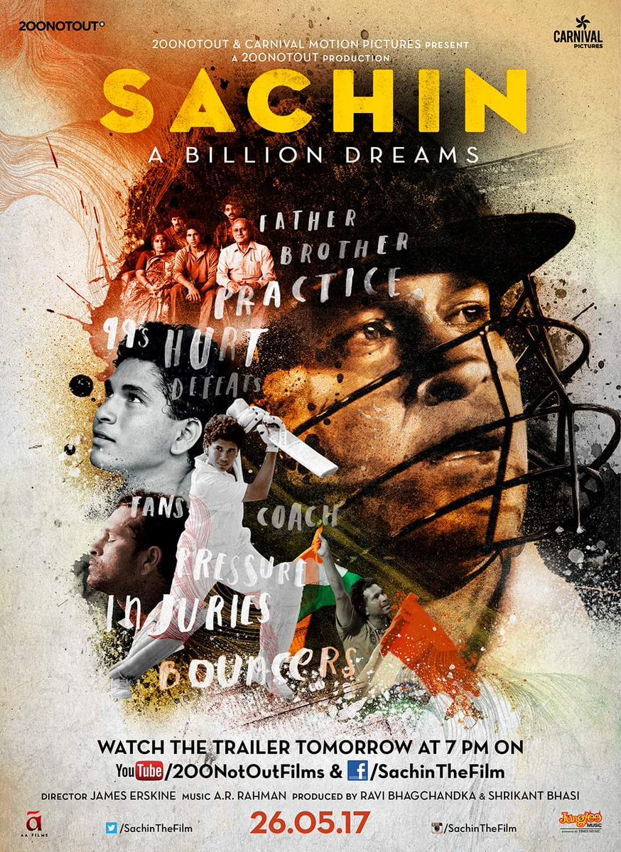 Sachin A Billion Dreams | Official Trailer | Sachin Tendulkar Released