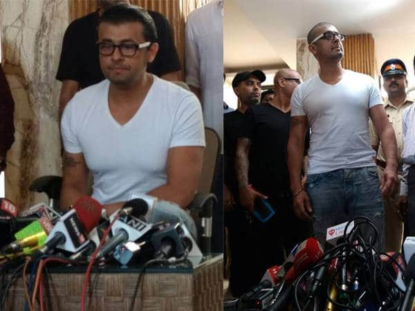 Sonu nigam shaved his head