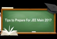 JEE Main 2017: Last Minute Mistakes to Avoid