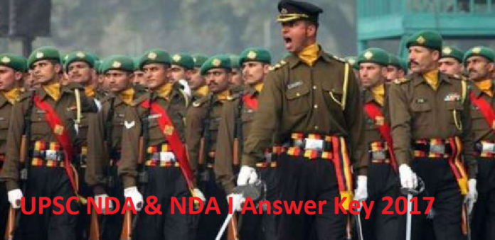 UPSC NDA NA I Answer Key