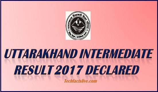 Uttarakhand Board 12th Result 2017