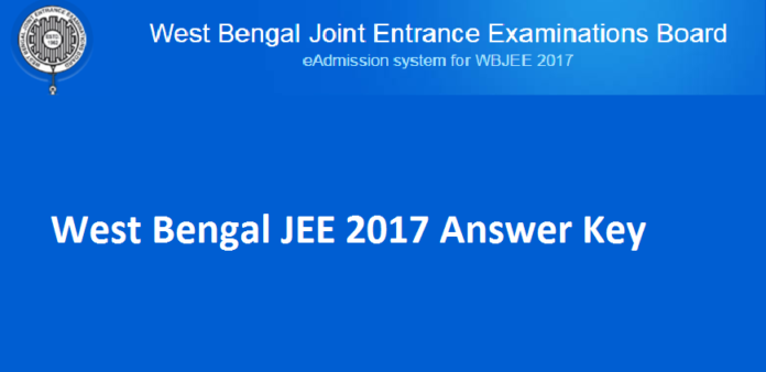 WBJEE Answer Key 2017