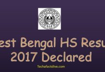 WBCHSE 12th Result 2017