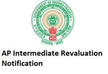 AP Intermediate 1st Year, 2nd Year Revaluation/ Recounting