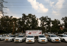 ola uber drivers protest