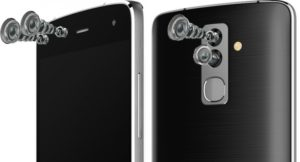 Alcatel Flash smartphone cameras