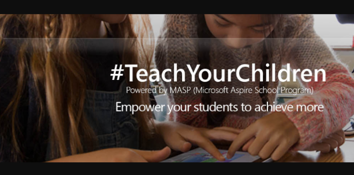 microsoft teachyourchildren