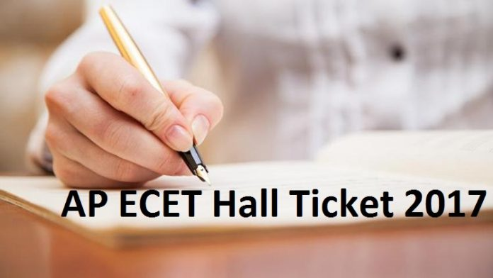 Andhra Pradesh ECET Hall Ticket
