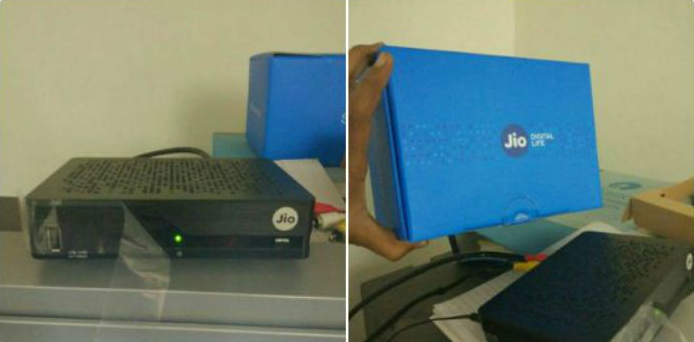reliance jio dth boxes