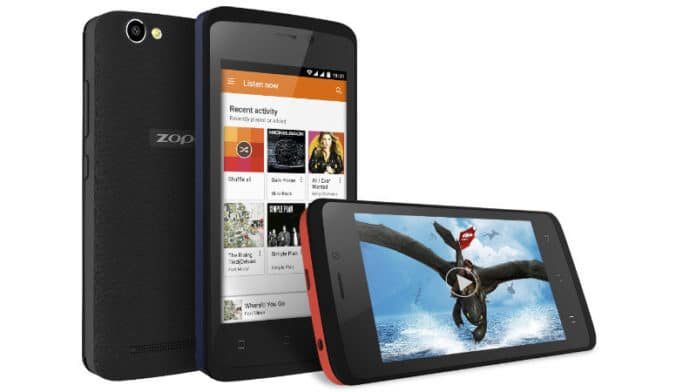 Zopo Color M4 Launched in India