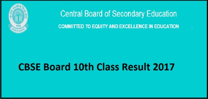 CBSE 10th Class Result 2017