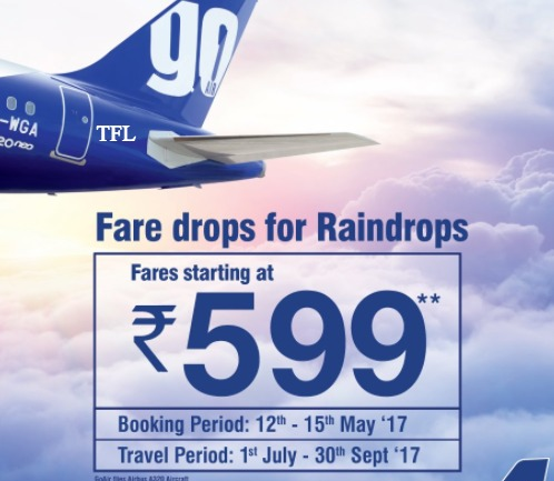 GoAir flight ticket offer