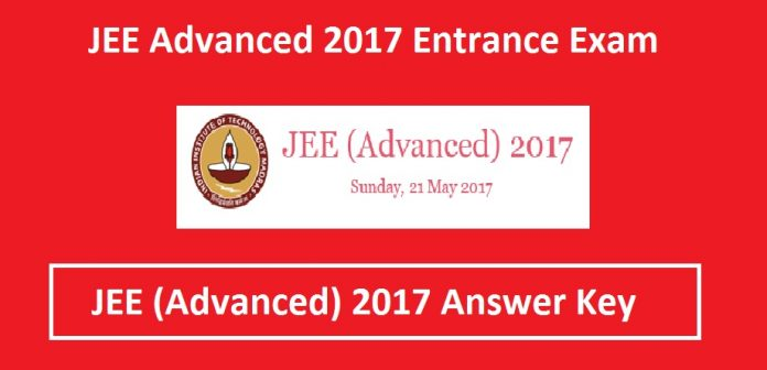 JEE Advanced Answer Key 2017