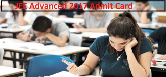 JEE Advanced Hall Ticket 2017